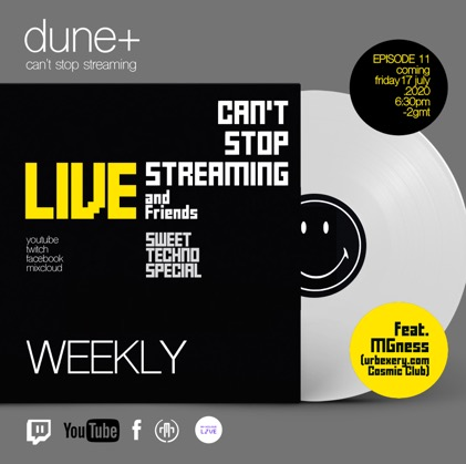 cantstopstreaming - plus friends - mg special